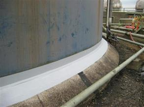 Belzona tank base sealing completed providing full long-term protection of the tank